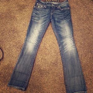 Rock Revival Jen Boot Jeans Size 31